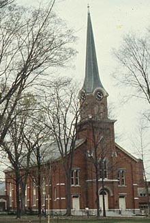 Congregational Church in Homer NY