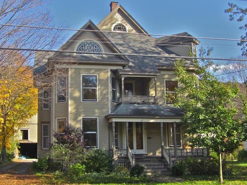 Landmark society of homer ny for One story queen anne